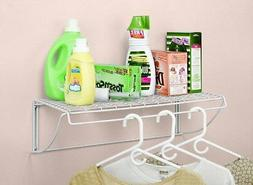 Utility Shelf Hanger Laundry Room Storager Hanging Shelves W