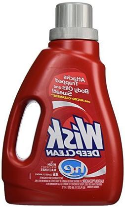 Wisk Deep Clean Liquid Laundry Detergent, High Efficiency, 5